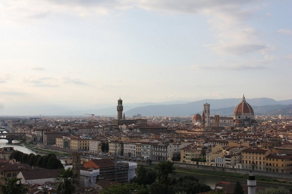 City of Florence, Italy - Photo by Brian Cleary