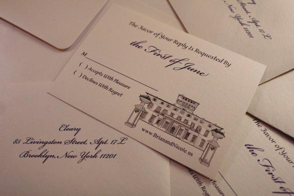 Wedding Invitation Design by Nicole Barker