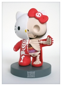 Hello Kitty Anatomy 1000 by Jason Freeny