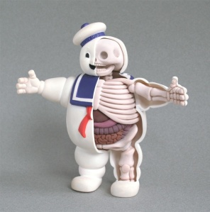 Stay-Puft Marshmallow Man Anatomy by Jason Freeny