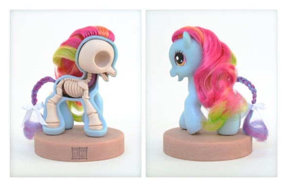 My Little Pony Anatomy 1000 by Jason Freeny