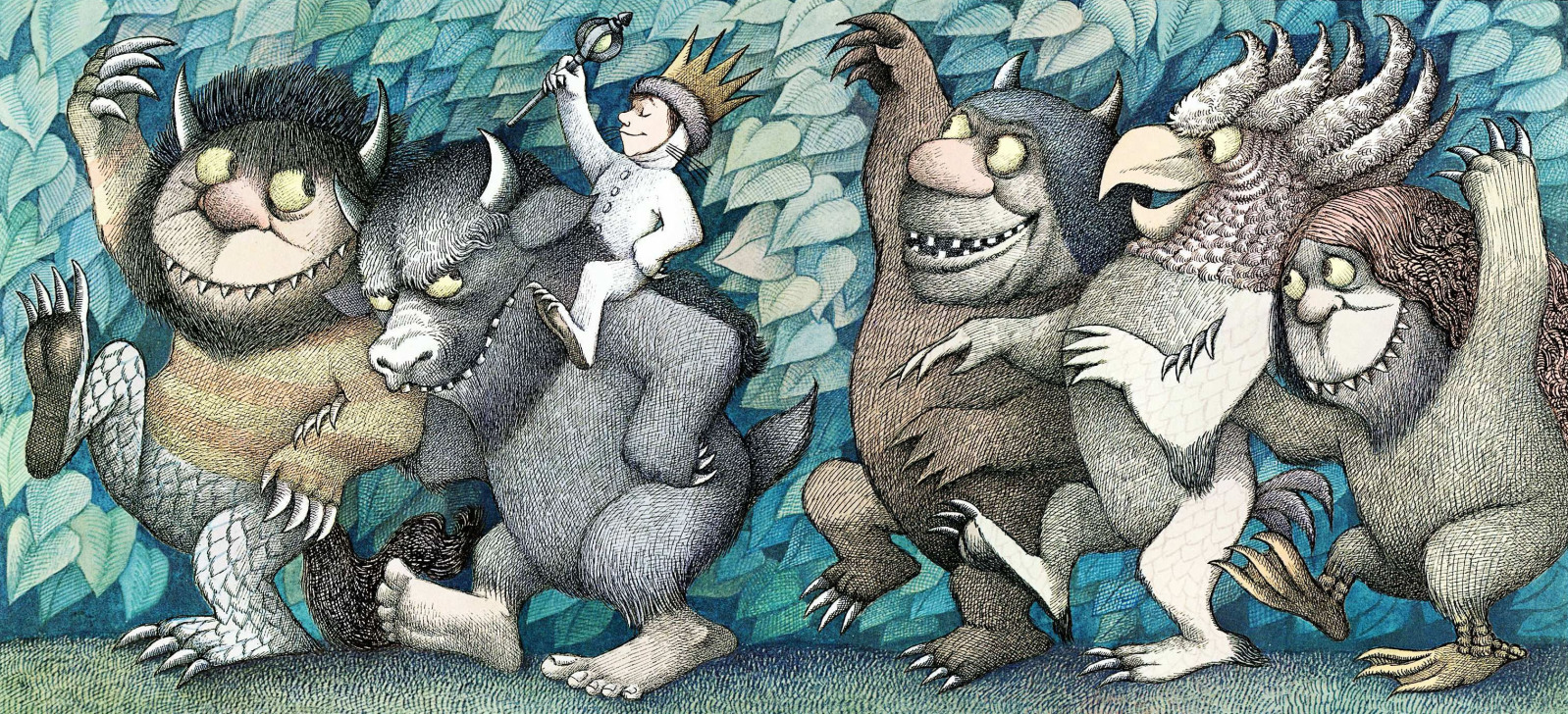Where The Wild Things Are Max Illustrations