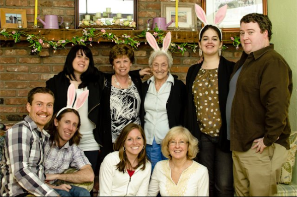 Easter - Cleary family photo