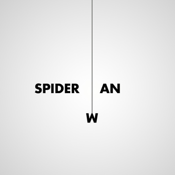 Spiderman by Ji Lee