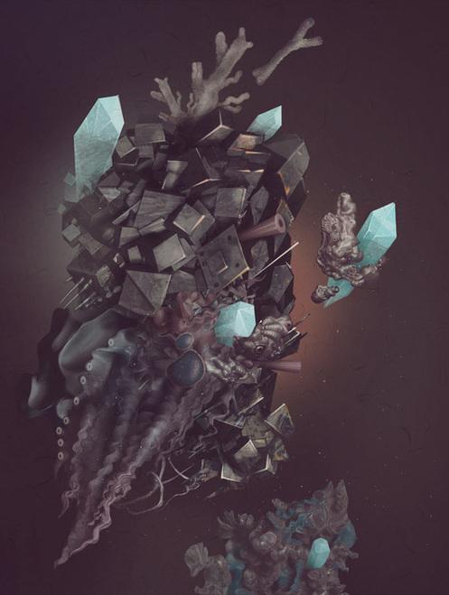 Space Stone by Tatiana Kazakova