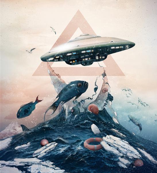 UFO by Tatiana Kazakova