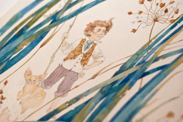Watercolor Fairy Tale Illustration 10 by Tatyana Kartasheva