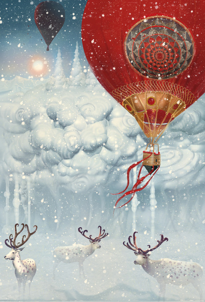 Winterfly by Tatiana Kazakova