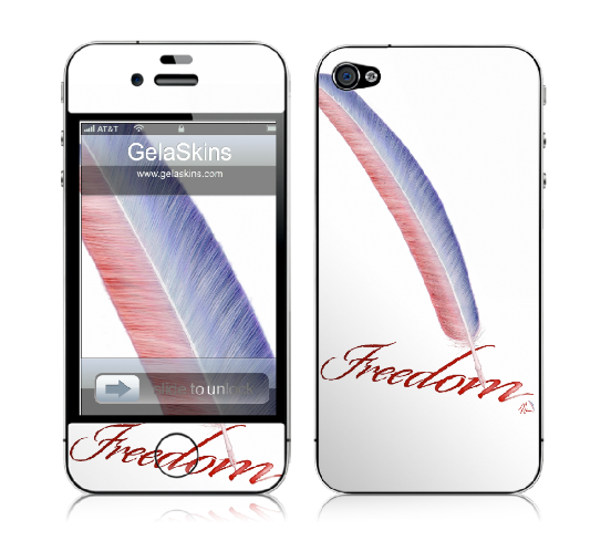 """Freedom"" - Illustration iphone skin design by Nicole Barker"