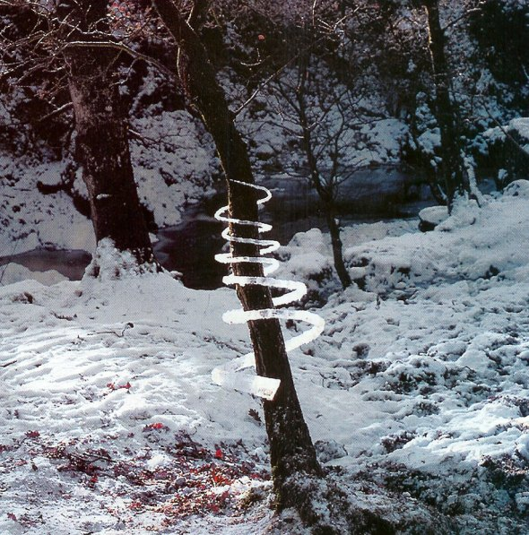 Reconstructed Icicles - sculpture by Andy Goldsworthy
