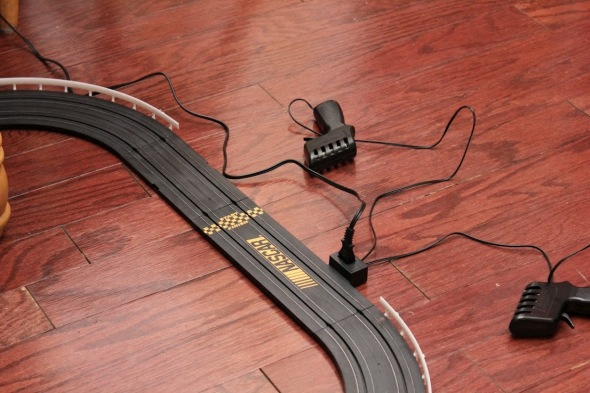 Slot car starting line - Photo 3 by Brian Cleary