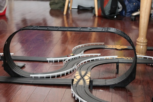 Slot car loopty loop - Photo 2 by Brian Cleary