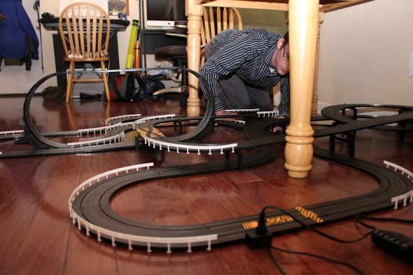 Slot car set - Photo 1 by Brian Cleary