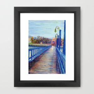 "'Water Over The Bridge"" Print by Nicole Cleary"