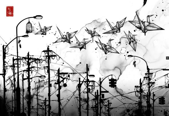Cable Cranes by Nanami Cowdroy