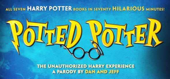 potted potter live show banner