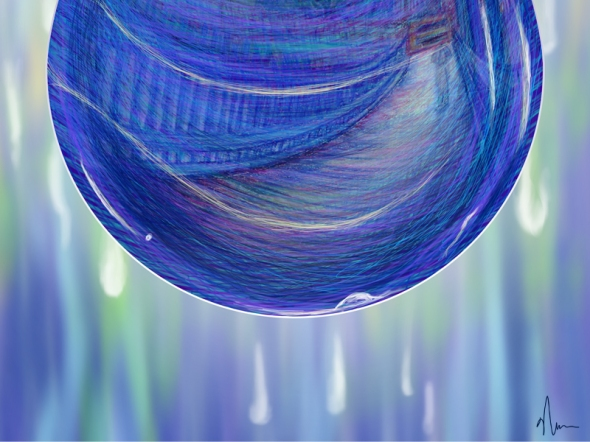 Drip Drop concept painting crop1 by Nicole Barker