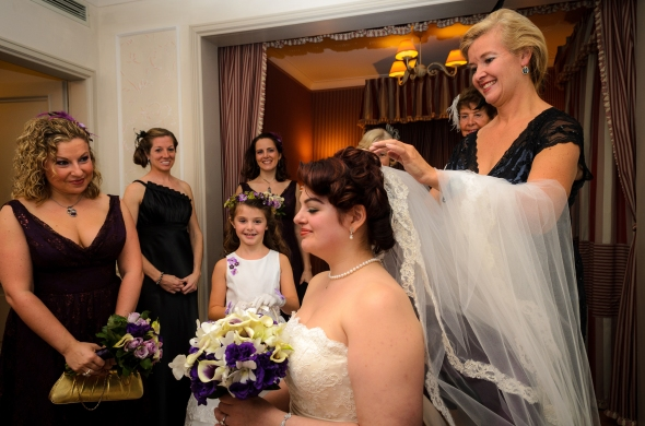 Bride Getting ready - Fiesole, Italy - 10-8-2012 - photo by SuperClearyPhoto