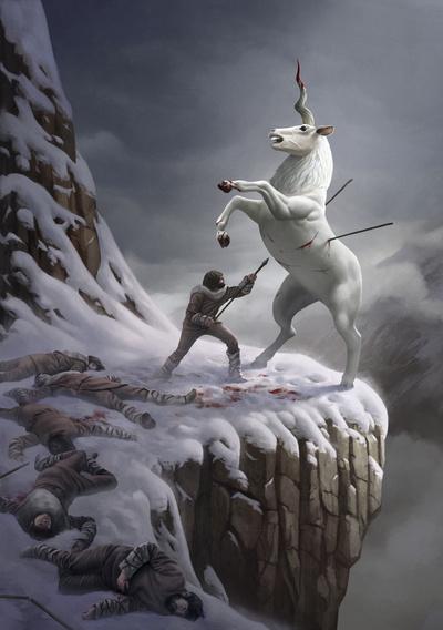 The Last Unicorn by Ture Ekroos
