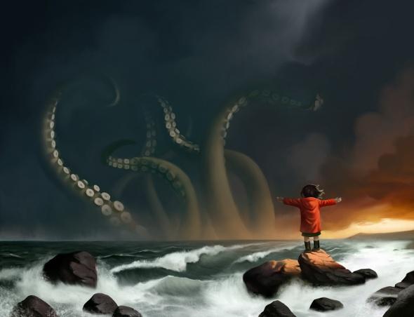 The Sea by Ture Ekroos