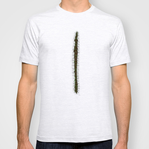 Stitches - painting t-shirt by Nicole Cleary