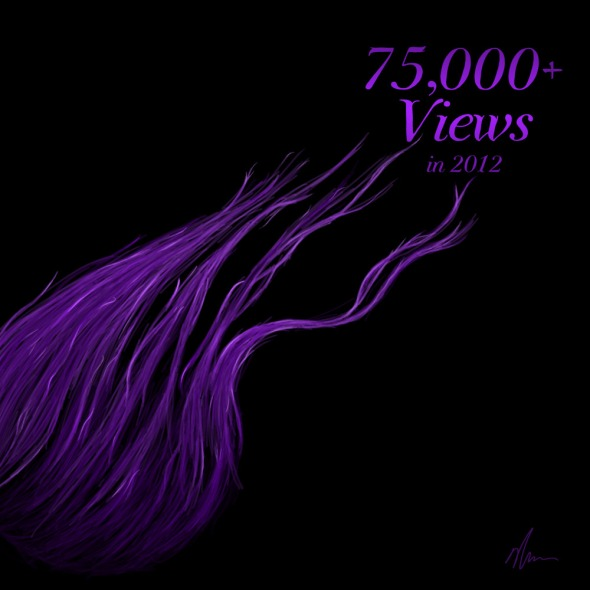 75,000+ Views in 2012 by Nicole Cleary