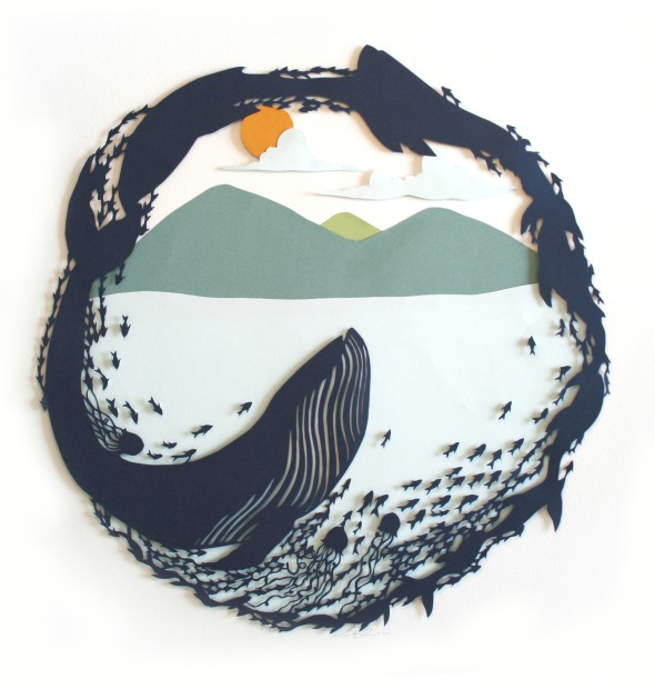 """Whale"" by Sarah Dennis"