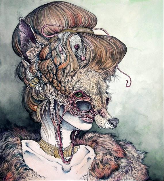 Vulpes Masquerade by Caitlin Hackett