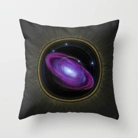 Space Travel - Pillow Design by Nicole Cleary