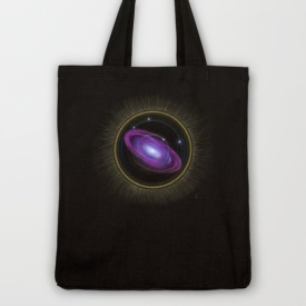 Space Travel - Tote Bag Design by Nicole Cleary