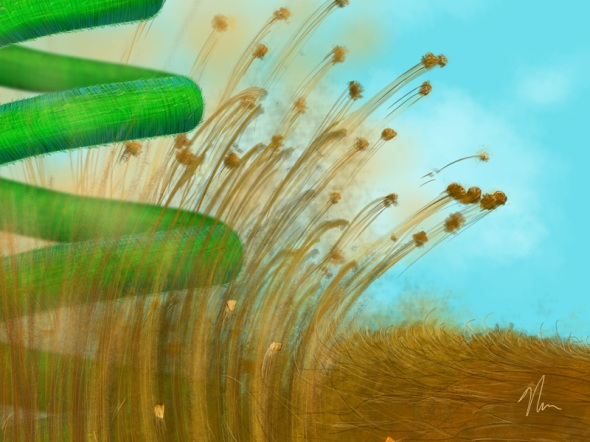 """Crop 3 of """"Sprung"""" by Nicole Cleary"""